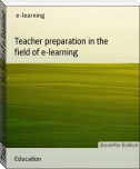 Teacher preparation in the field of e-learning