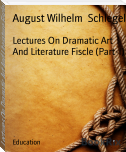 Lectures On Dramatic Art And Literature Fiscle (Part-I)