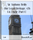 Our Legal Heritage, 5Th Ed. Fiscle (Part-I)