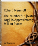"The Number ""E"" [Natural Log] To Approximately 1 Million Places"