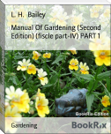 Manual Of Gardening (Second Edition) (fiscle part-IV) PART 1
