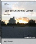 I Love BookRix Writing Contest