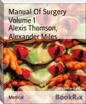 Manual Of Surgery Volume 1