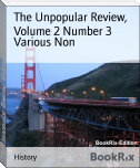 The Unpopular Review,  Volume 2 Number 3