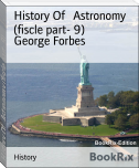 History Of   Astronomy (fiscle part- 9)