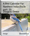 A Bird Calendar For Northern India (fiscle part- 9)