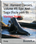 The   Harvard Classics, Volume 49, Epic And Saga (fiscle part-9)