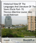Historical View Of  The Languages And Literature Of  The Slavic (fiscle Part- 11)