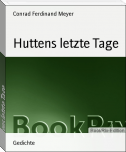 Huttens letzte Tage