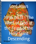 1995.06.11 - The Word of God at the Feast of the Holy Spirit Descending