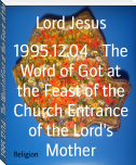 1995.12.04 - The Word of Got at the Feast of the Church Entrance of the Lord's Mother