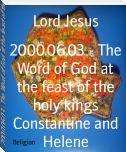 2000.06.03 - The Word of God at the feast of the holy kings Constantine and Helene
