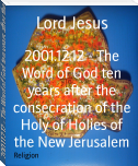 2001.12.12 - The Word of God ten years after the consecration of the Holy of Holies of the New Jerusalem