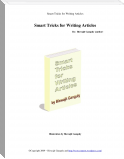 Smart Tricks For Writing Articles