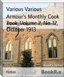Armour's Monthly Cook Book, Volume 2, No. 12, October 1913