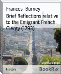 Brief Reflections relative to the Emigrant French Clergy (1793)