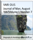 Journal of Man, August 1887,Volume 1, Number 7