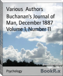 Buchanan's Journal of Man, December 1887 Volume 1, Number 11
