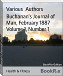 Buchanan's Journal of Man, February 1887 Volume 1, Number 1