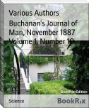 Buchanan's Journal of Man, November 1887 Volume 1, Number 10