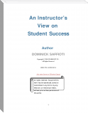 An Instructor's View on Student Success