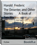 The Deserter, and Other Stories        A Book of Two Wars