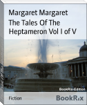 The Tales Of The Heptameron Vol I of V