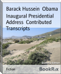 Inaugural Presidential Address  Contributed Transcripts