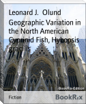 Geographic Variation in the North American Cyprinid Fish, Hybopsis gracilis