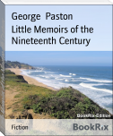 Little Memoirs of the Nineteenth Century