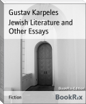 Jewish Literature and Other Essays