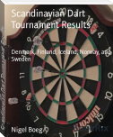 Scandinavian Dart Tournament Results