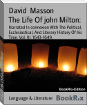 The Life Of john Milton: