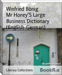 Mr Honey'S Large Business Dictionary (English-German)