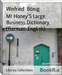 Mr Honey'S Large Business Dictionary (German-English)