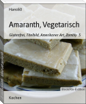 Amaranth, Vegetarisch