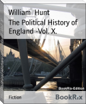 The Political History of England -Vol. X.