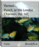 Punch, or the London Charivari, Vol. 147, August 26th, 1914,