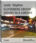 GUTENBERG EBOOK HOURS IN A LIBRARY