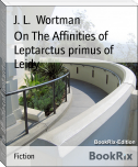 On The Affinities of Leptarctus primus of Leidy