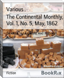 The Continental Monthly, Vol. 1, No. 5, May, 1862