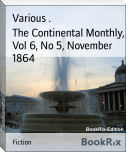 The Continental Monthly, Vol 6, No 5, November 1864