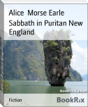 Sabbath in Puritan New England