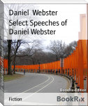 Select Speeches of Daniel Webster