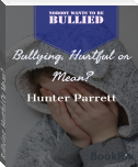 Bullying, Hurtful Or Mean?
