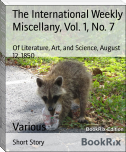 The International Weekly Miscellany, Vol. 1, No. 7