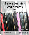Before Learning Vedic Maths