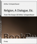 Religion, A Dialogue, Etc.