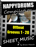 "Happydrums Compilation ""Offbeat Grooves 1-20"""