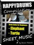 "Happydrums Compilation ""Elephant & Turtle"""